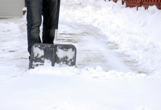Schnee räumen - Winterdienst